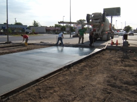 Commercial Flatwork Concrete
